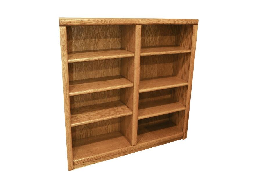 Substantial Oak Bookcase