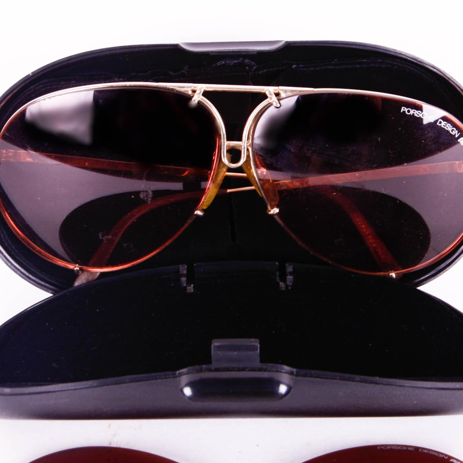 Vintage Carrera Porsche Aviator Sunglasses Ebth
