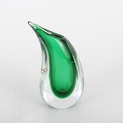 Luigi Onesto Oggetti Murano Art Glass Sculpture