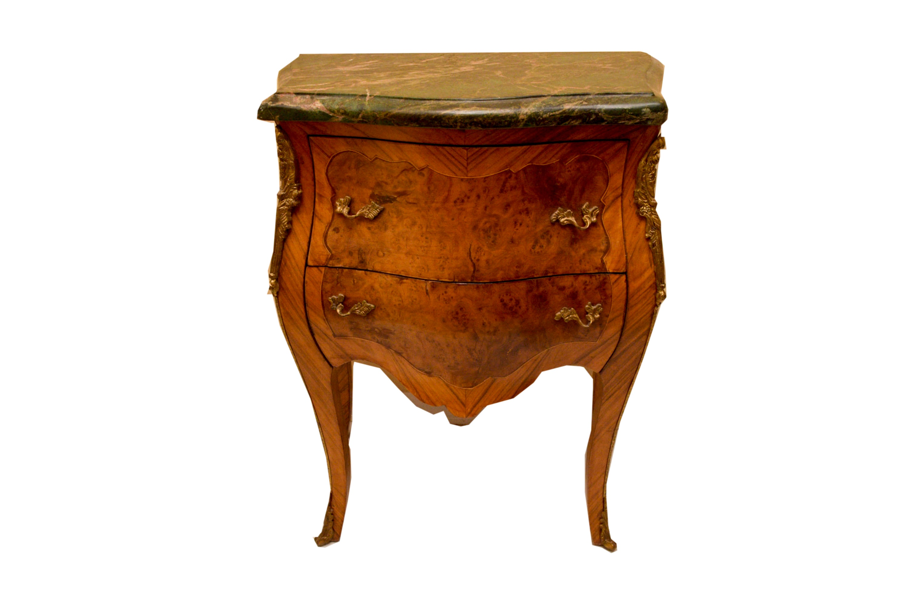 Louis XV Style Bombe Commode