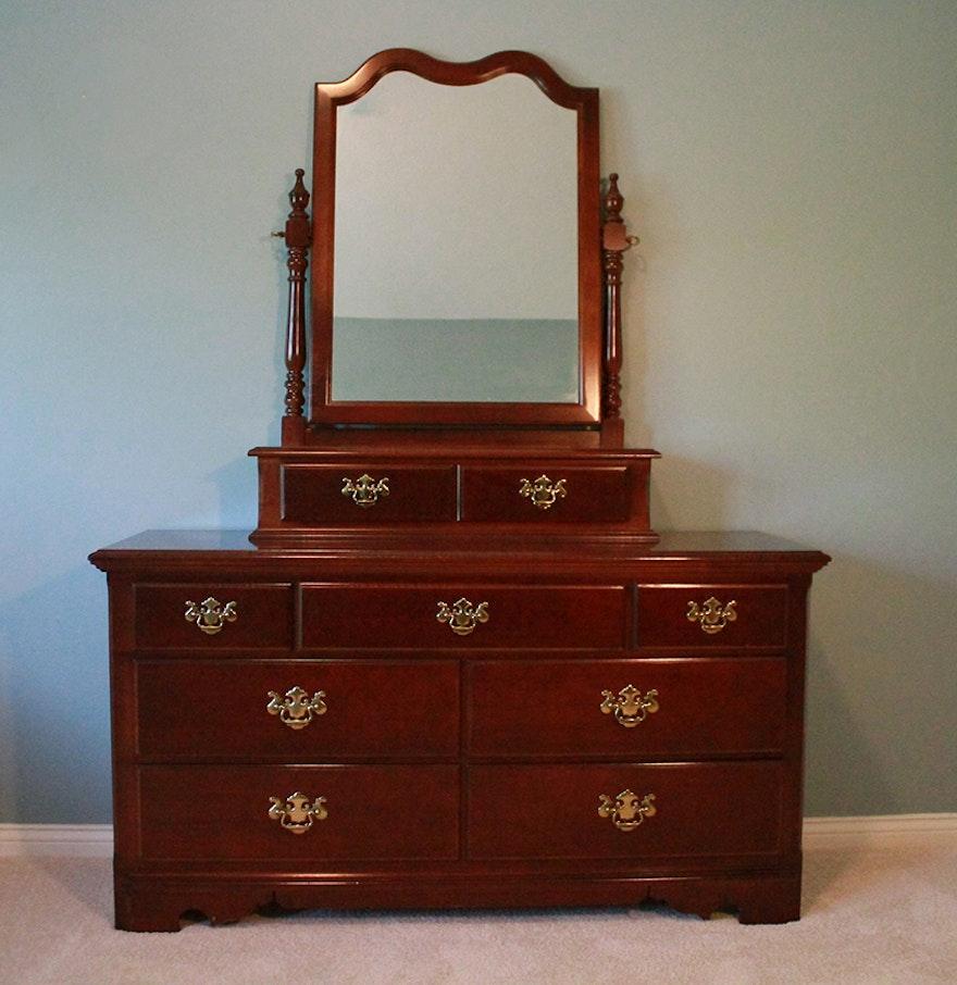 Impressions By Thomasville Dresser With Mirror Ebth