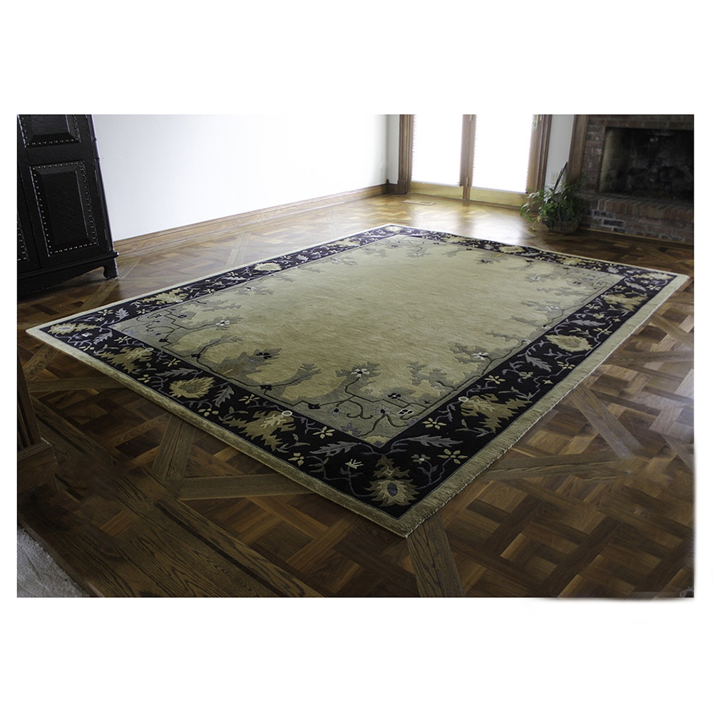 Indian Hand Woven Area Rug