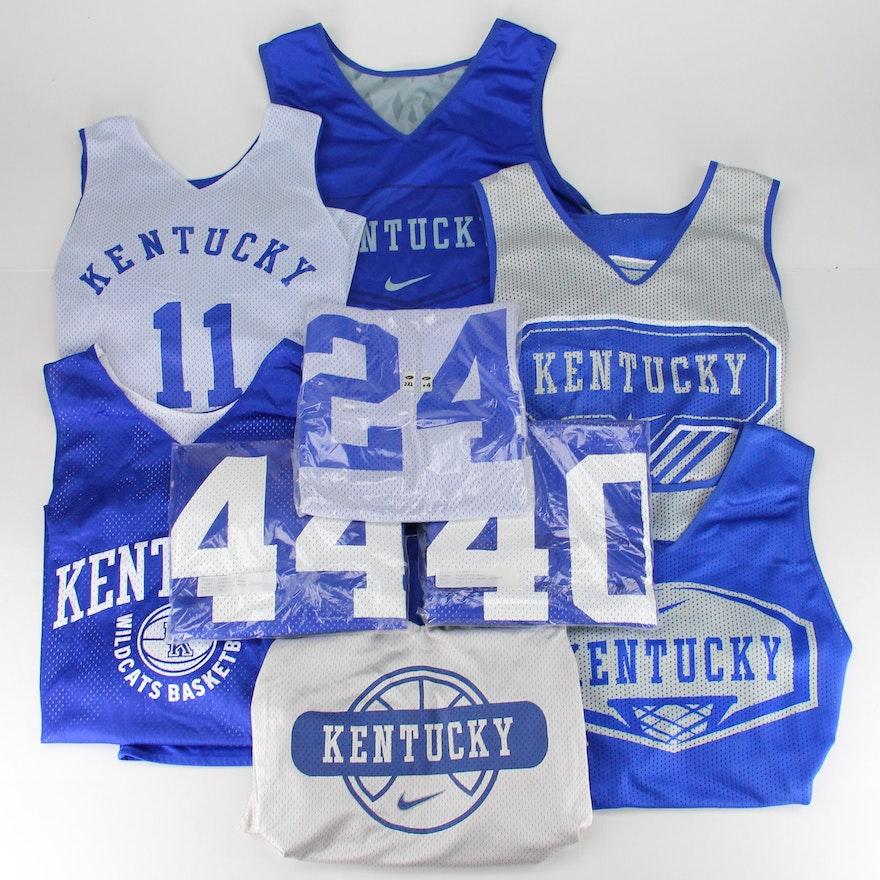 new concept 3a22e f29fe Collection of University of Kentucky Basketball Jerseys