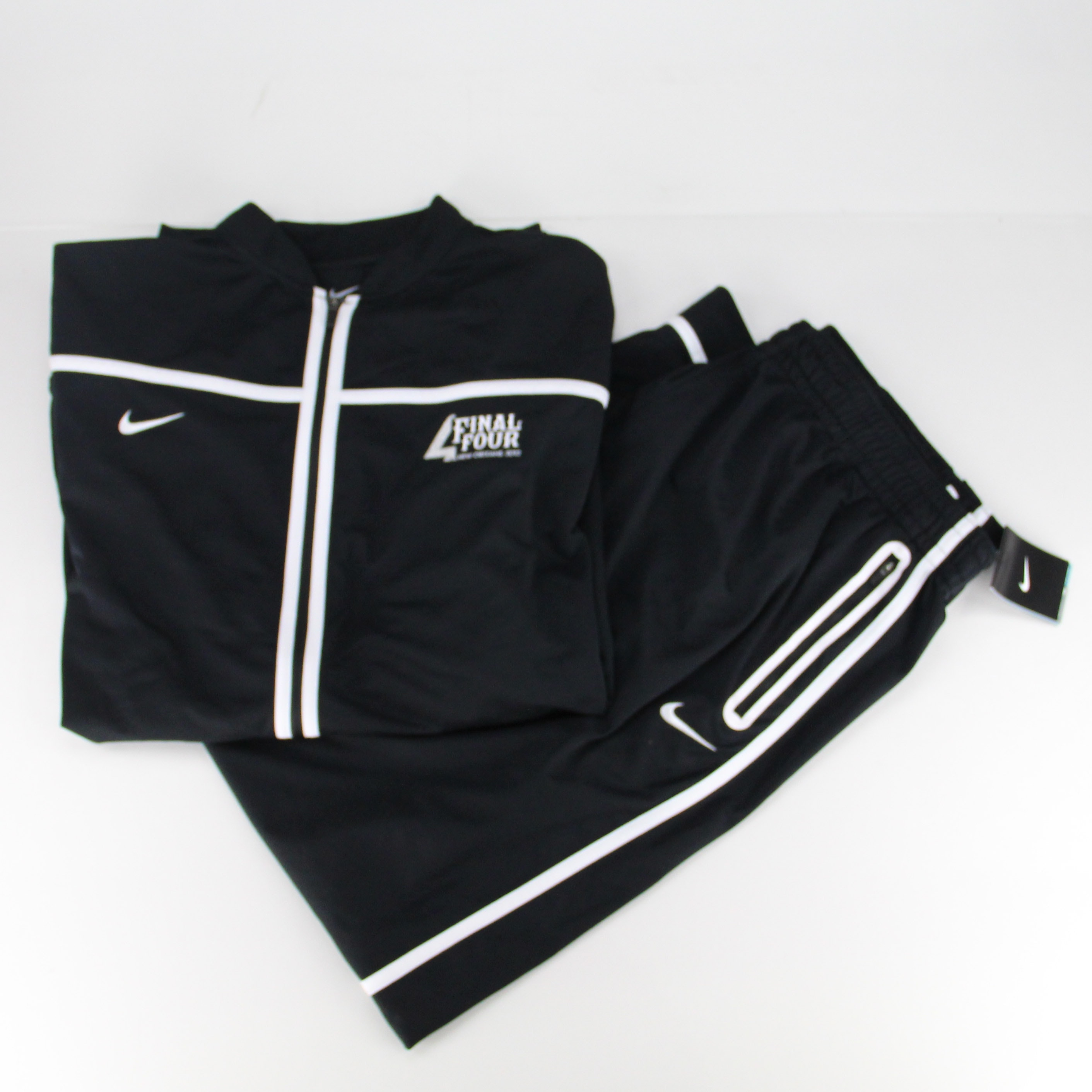 Matching 4XL Final Four Zip Up Jackets and Pants