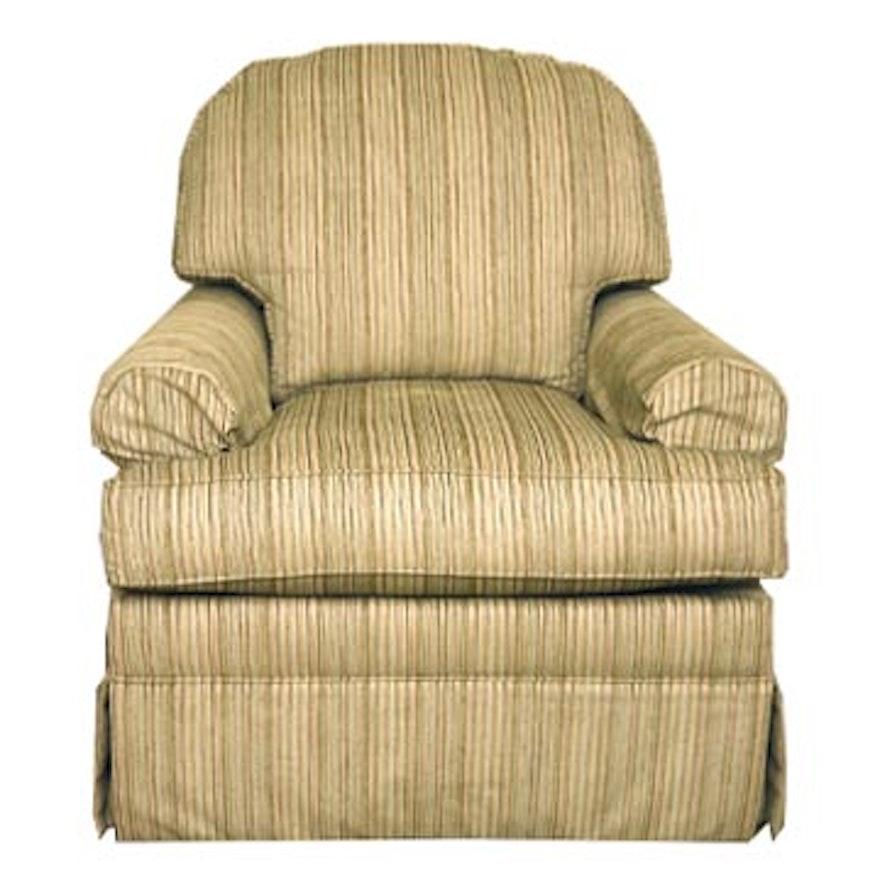 Ethan Allen Devonshire Swivel Chair Ebth