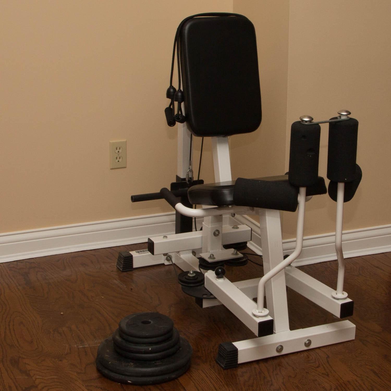 Great Parabody Serious Steel Thigh Machine ...