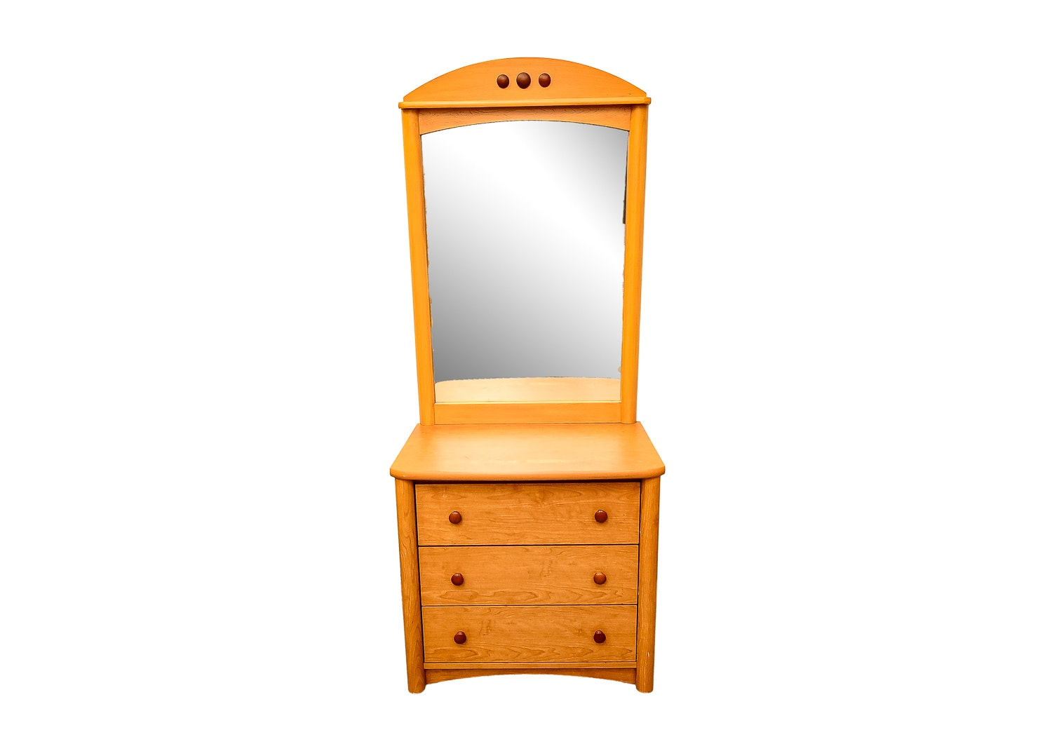 Small Dresser with Mirror
