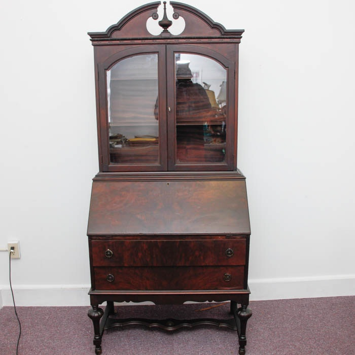 Antique Secretary Desk From The Illinois Cabinet Company ...