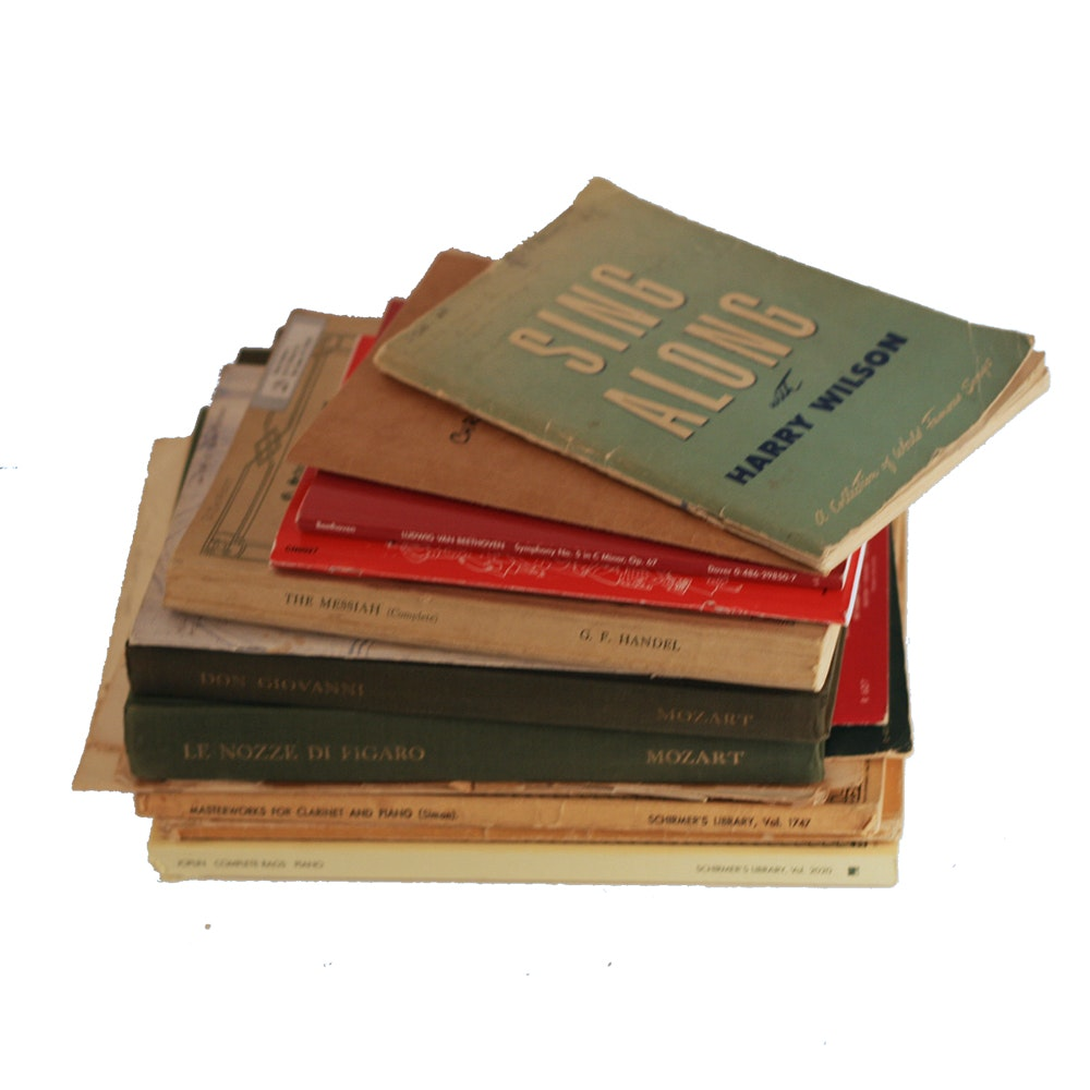 Assorted Classical Songbooks