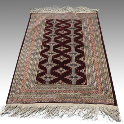 Handwoven Jaldar Wool Area Rug