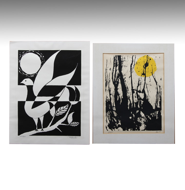Duo of Prints by Rosado