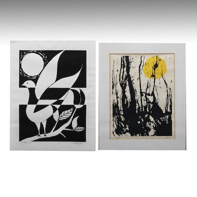 Duo of Prints by Rosado