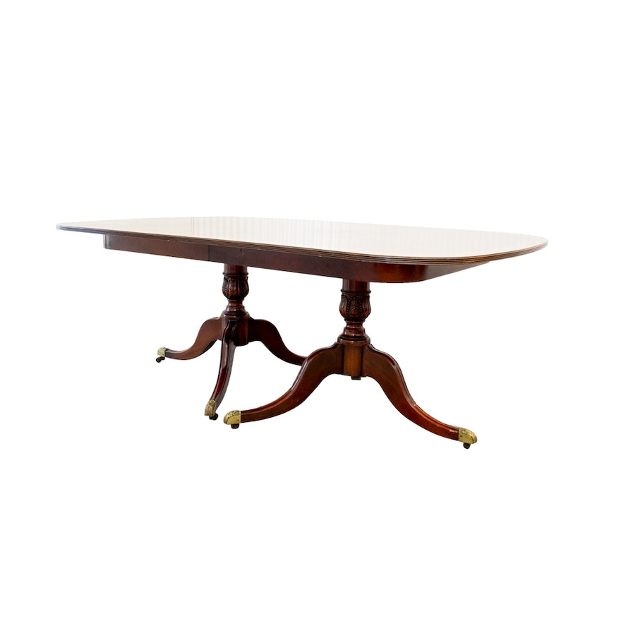 Kaplan Furniture Beacon Hill Collection Dining Table Ebth