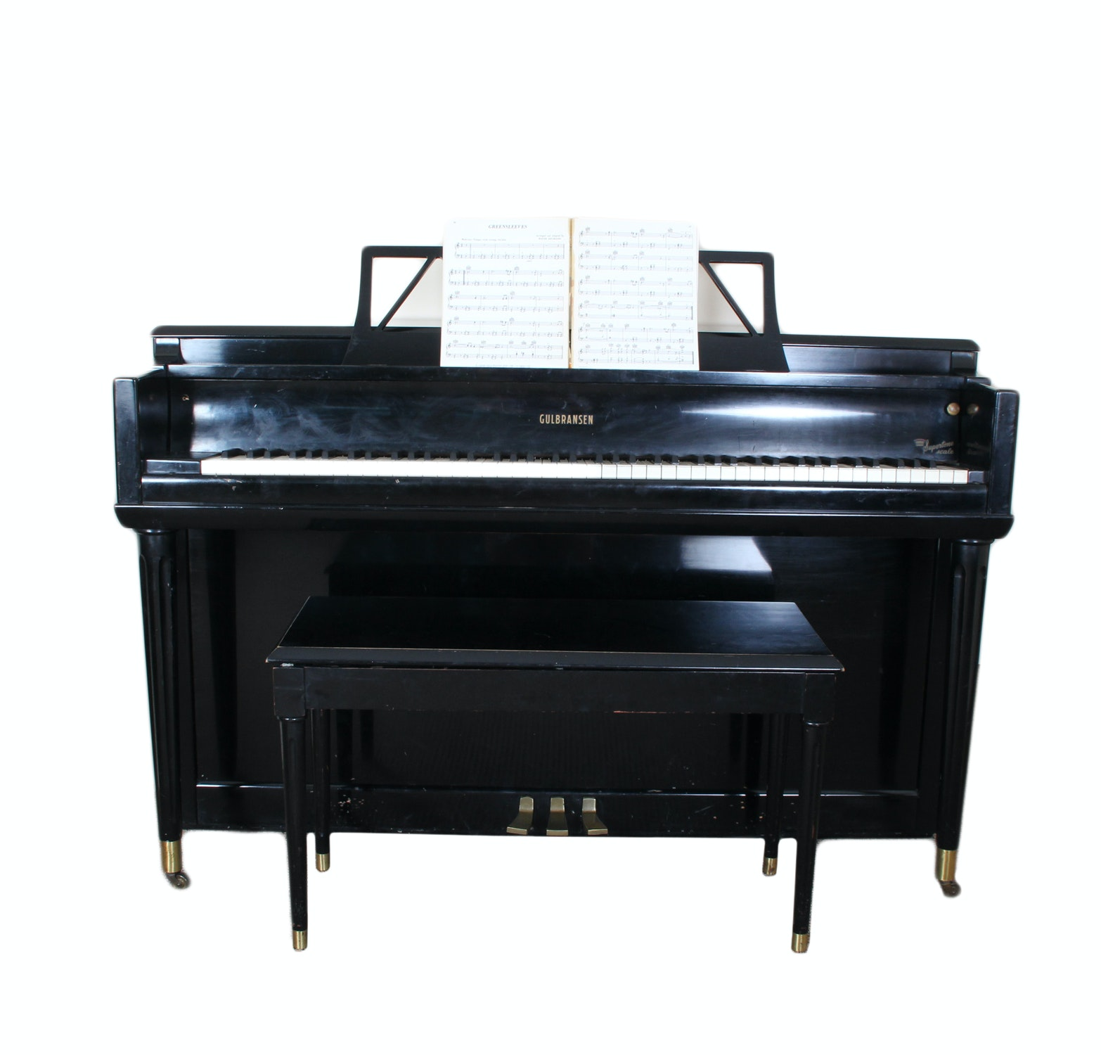 "Gulbransen ""Supertone Scale"" Upright Piano"