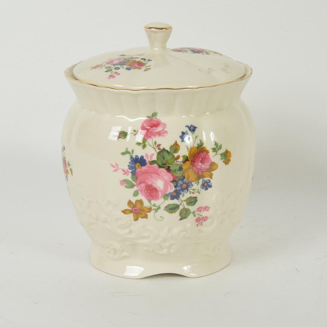 Porcelain Cookie Jar