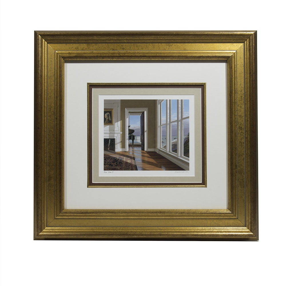 Edward Gordon Quot Music Room Ii Quot Giclee Print Ebth