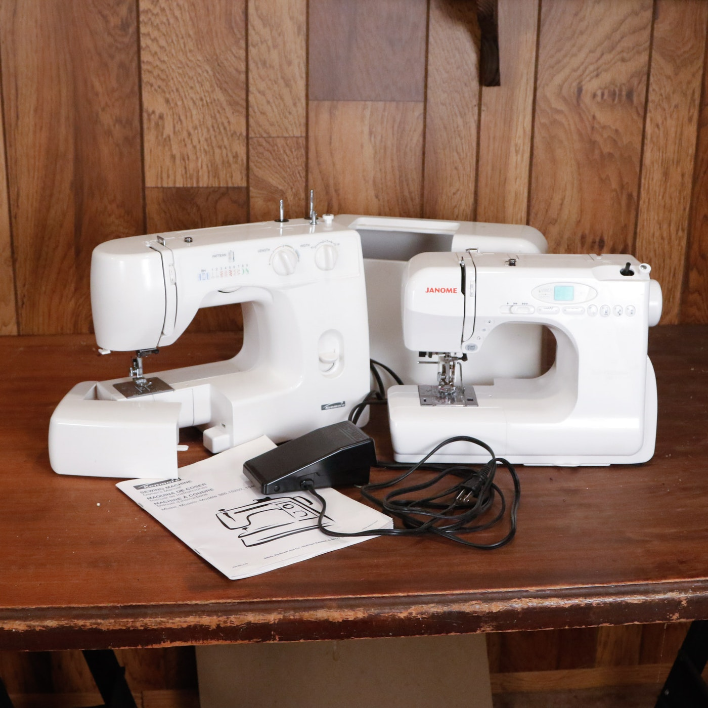 Janome and kenmore sewing machines ebth for Machine a coudre kenmore modele 385