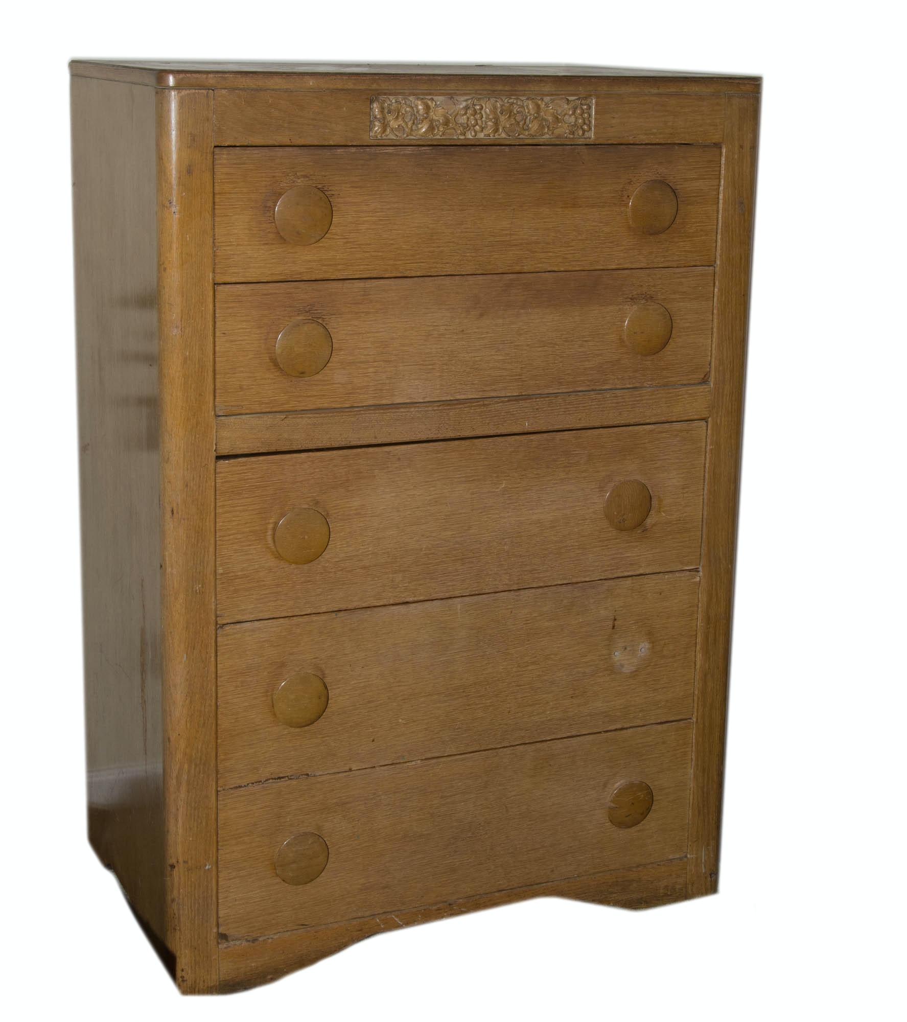 Nice Thomasville Chair Company Oak Chest Of Drawers ...