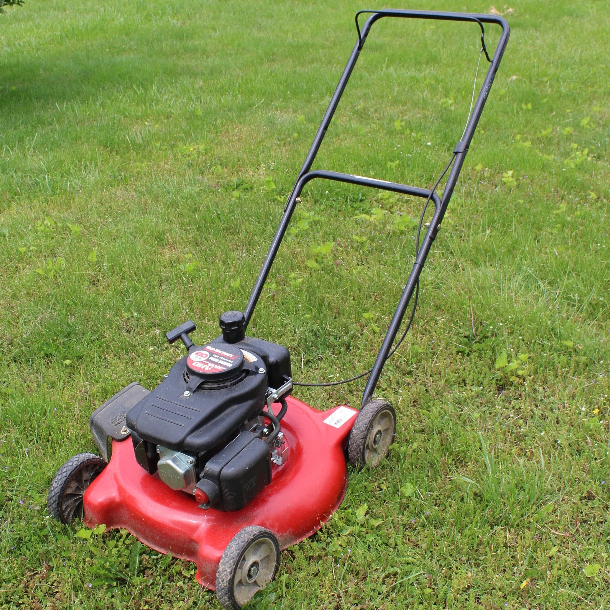 yard machine mower