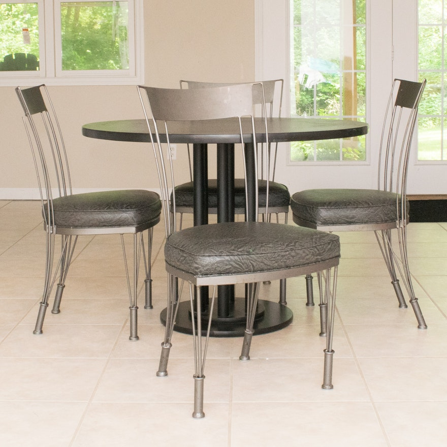 Shaver-Howard Contemporary Kitchen Table and Chairs
