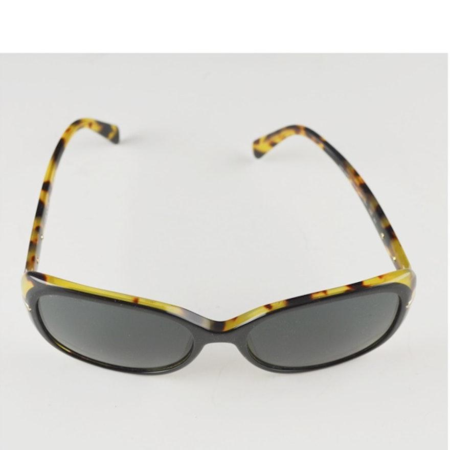 0df6d53473 Prada Designer Black Light Tortoise Sunglasses   EBTH