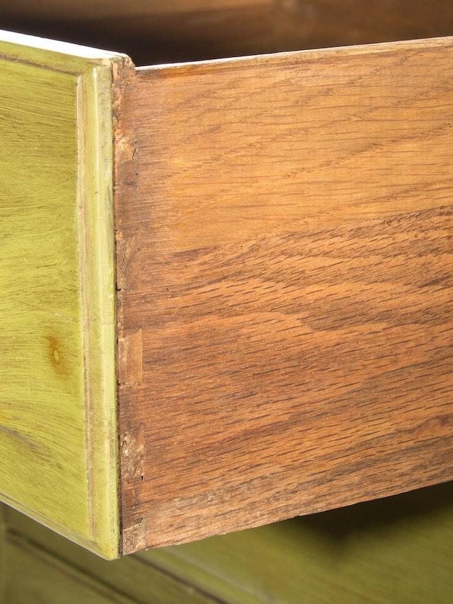 Franklin Shockey Mid Century Modern Painted Wood Desk Ebth