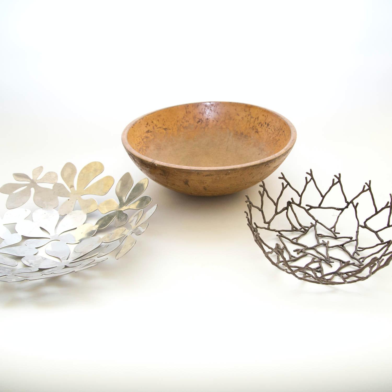 Trio of Decorative Bowls