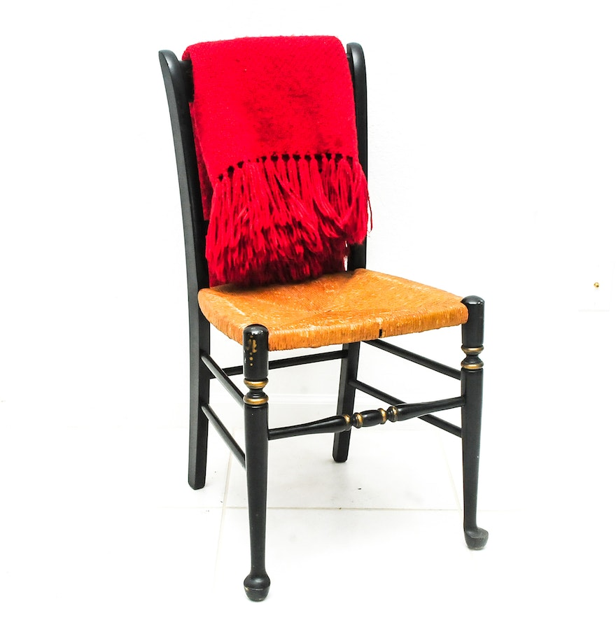 Hitchcock Style Stenciled Chair EBTH