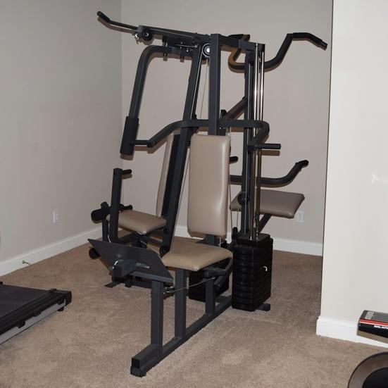 Weider pro complete home gym ebth