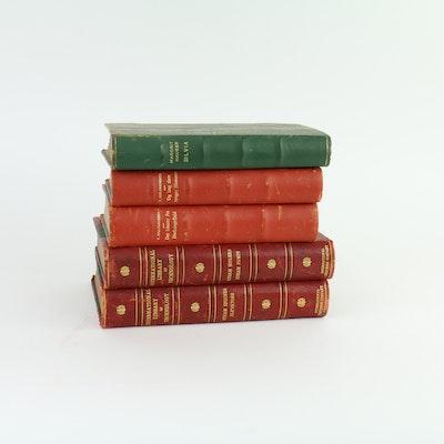 Five Vintage Books