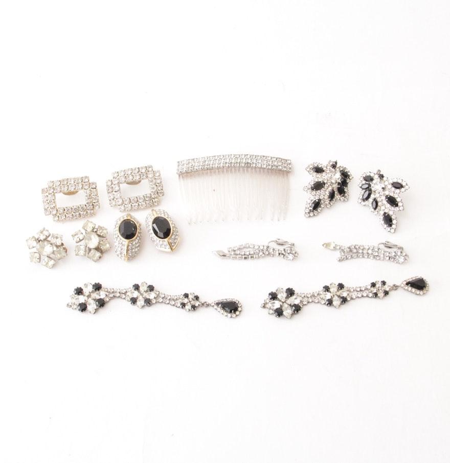 Vintage Rhinestone Jewellery 64