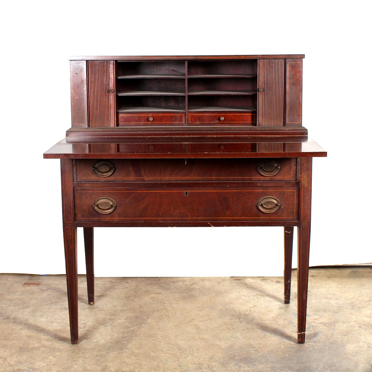 [antique governor winthrop mahogany writing] - 100 images ...