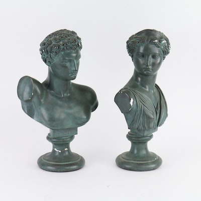 Pair of Roman-Style Busts