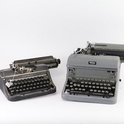 Pair of Vintage Typewriters