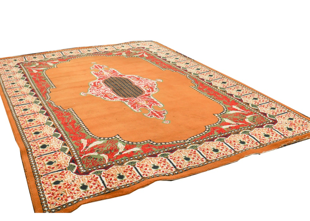 Unique Power Loomed Islamic Prayer-Style Area Rug