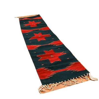 Southwestern Native American Style Wool Kilim Rug