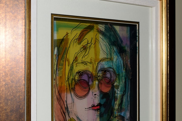 Art Glass Layers Jean Pierre Weill Painting Vitreograph