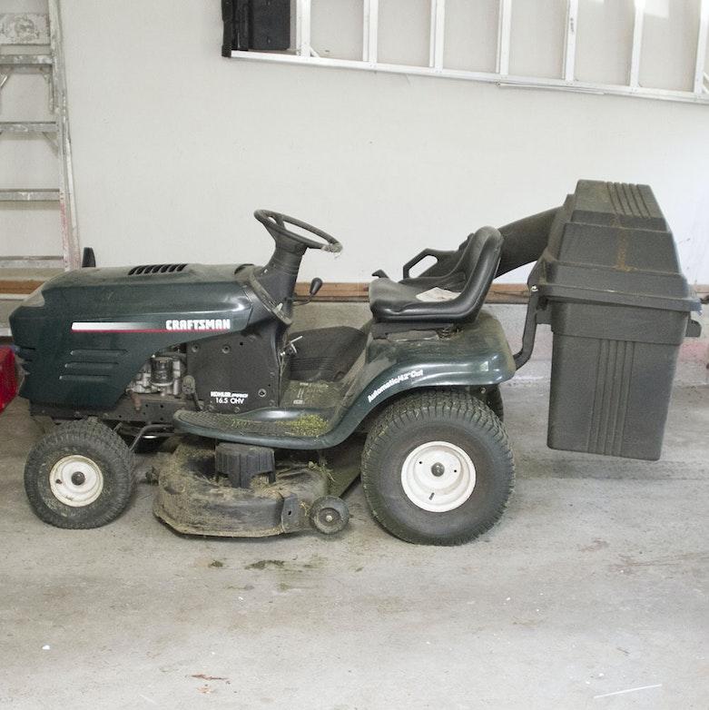 Craftsman 4000 Riding Lawn Mower : Craftsman dyt lawn tractor ebth