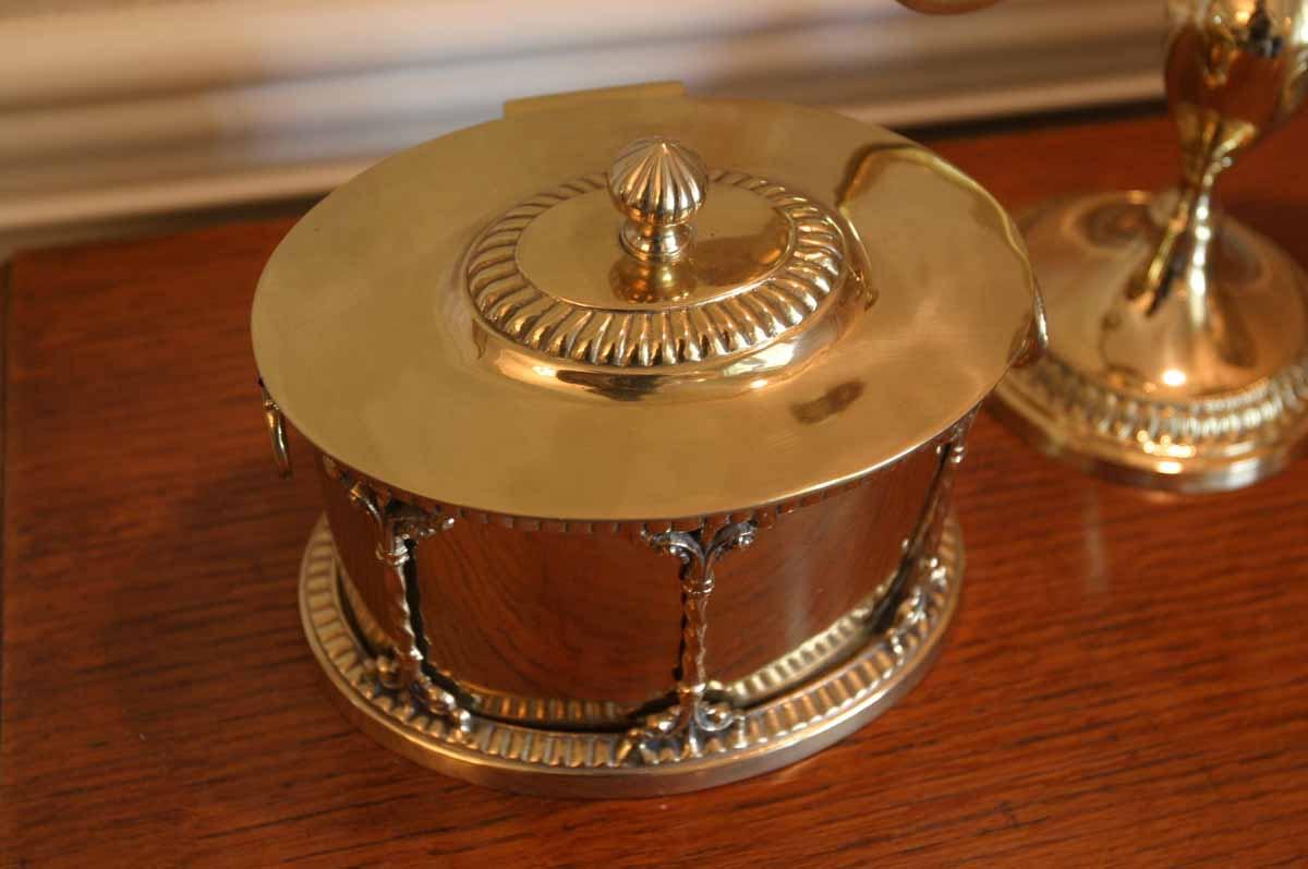 Brass decorative items featuring nora fenton ebth