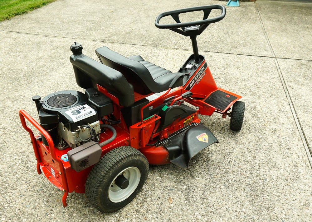 Snapper Lawn Mower Seat : Snapper easy rider riding lawn mower ebth