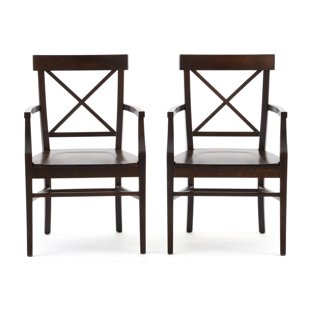 Pottery Barn Style quotStefanoquot Dining Chairs EBTH : JJM8088jpgixlibrb 11 from www.ebth.com size 880 x 906 jpeg 68kB