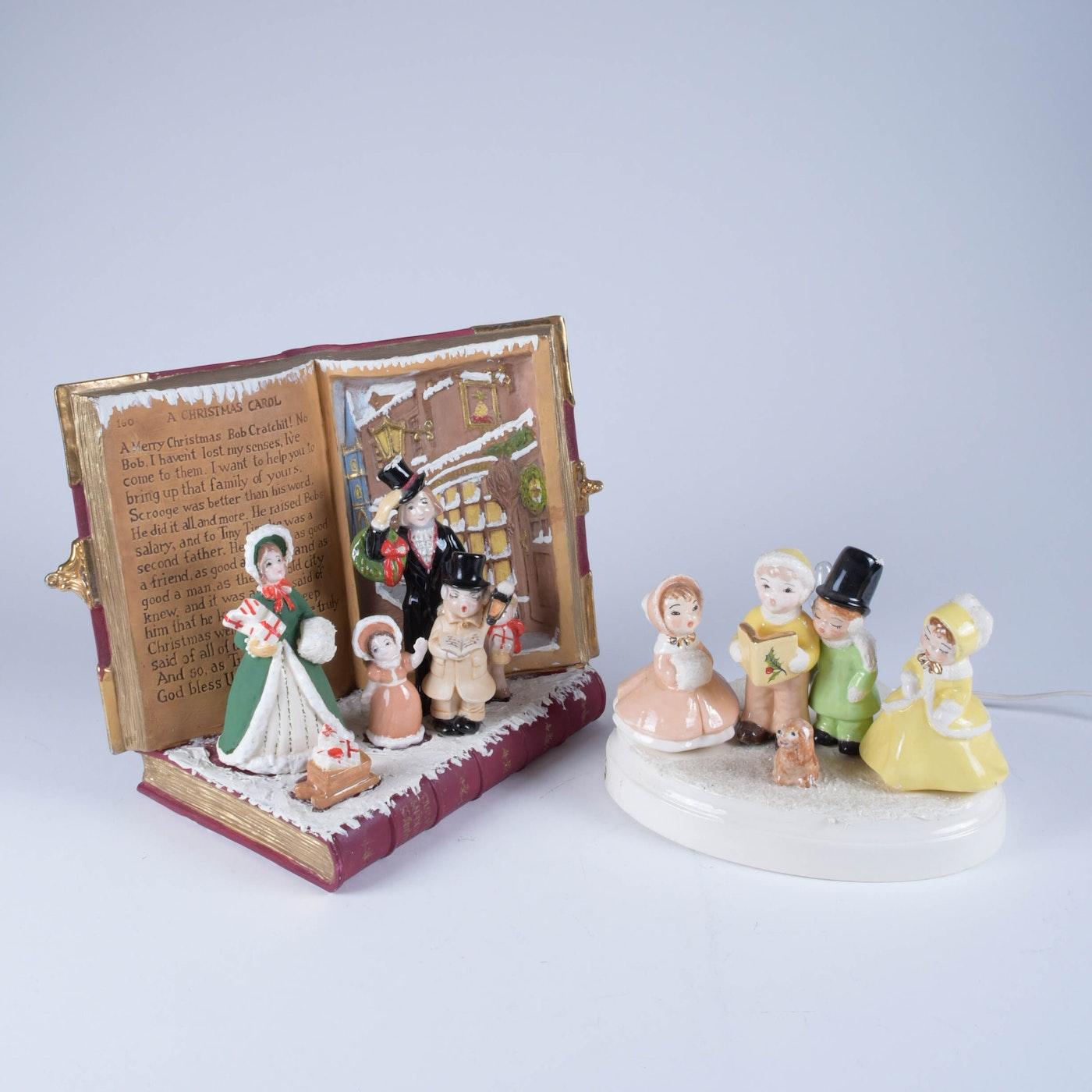 """""""A Christmas Carol"""" Ceramic Light-Up Decor"""
