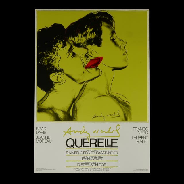 """Andy Warhol """"Querelle"""" (Green) Movie Poster"""