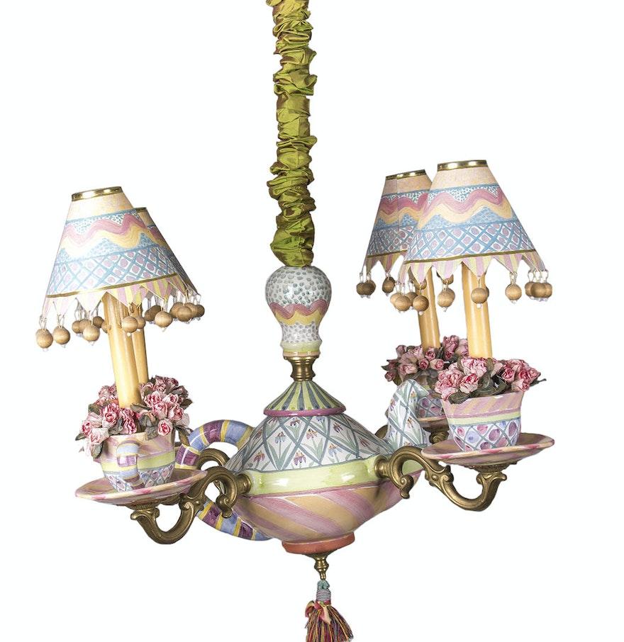 Uncategorized teapot chandelier purecolonsdetoxreviews home design uncategorized teapot chandelier mackenzie childs teapot chandelier ebth chandelier arubaitofo Image collections