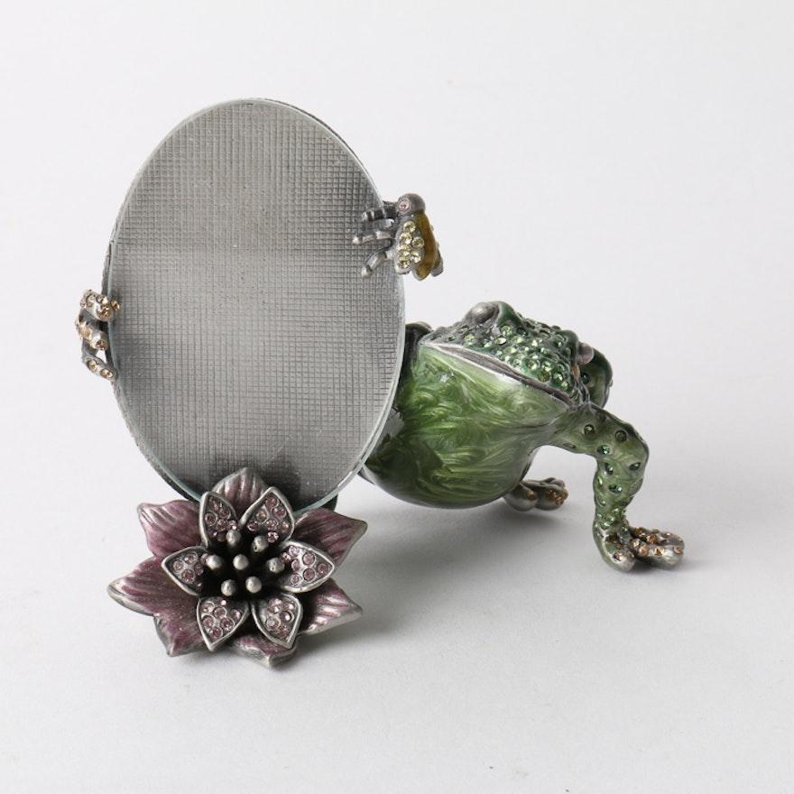 Jay Strongwater Frog Frame : EBTH