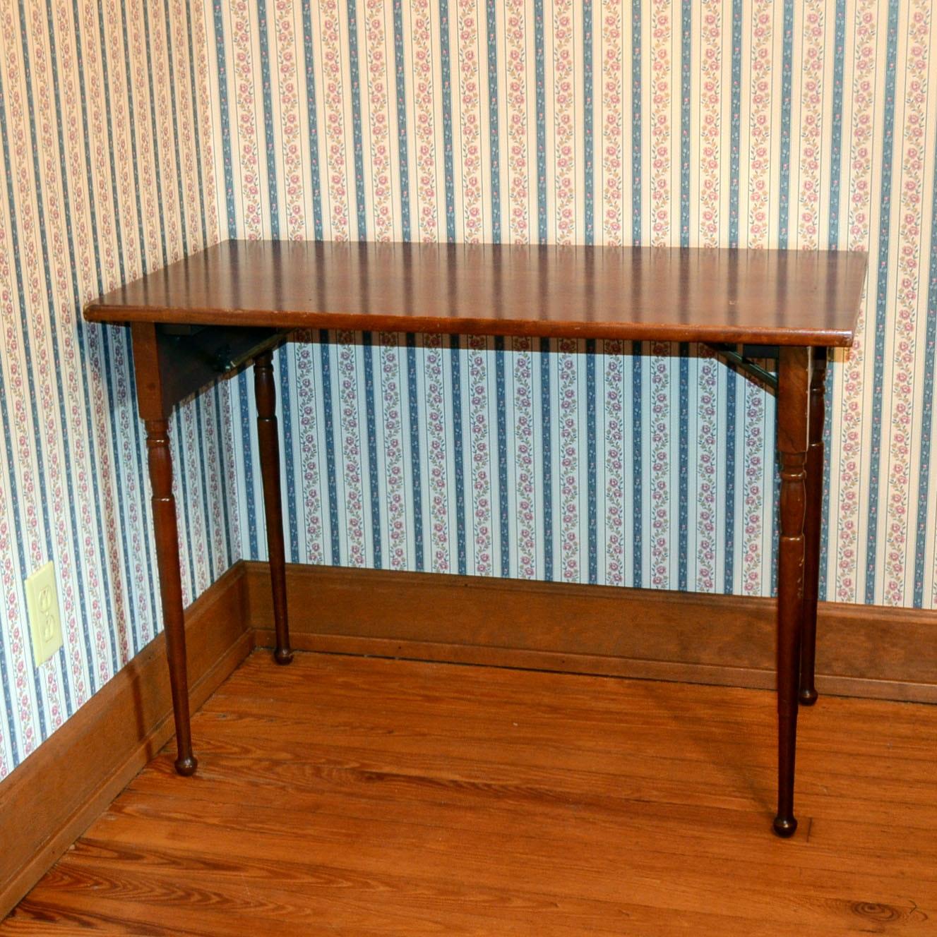 Vintage Carl Forslund Cherry Folding Table ...
