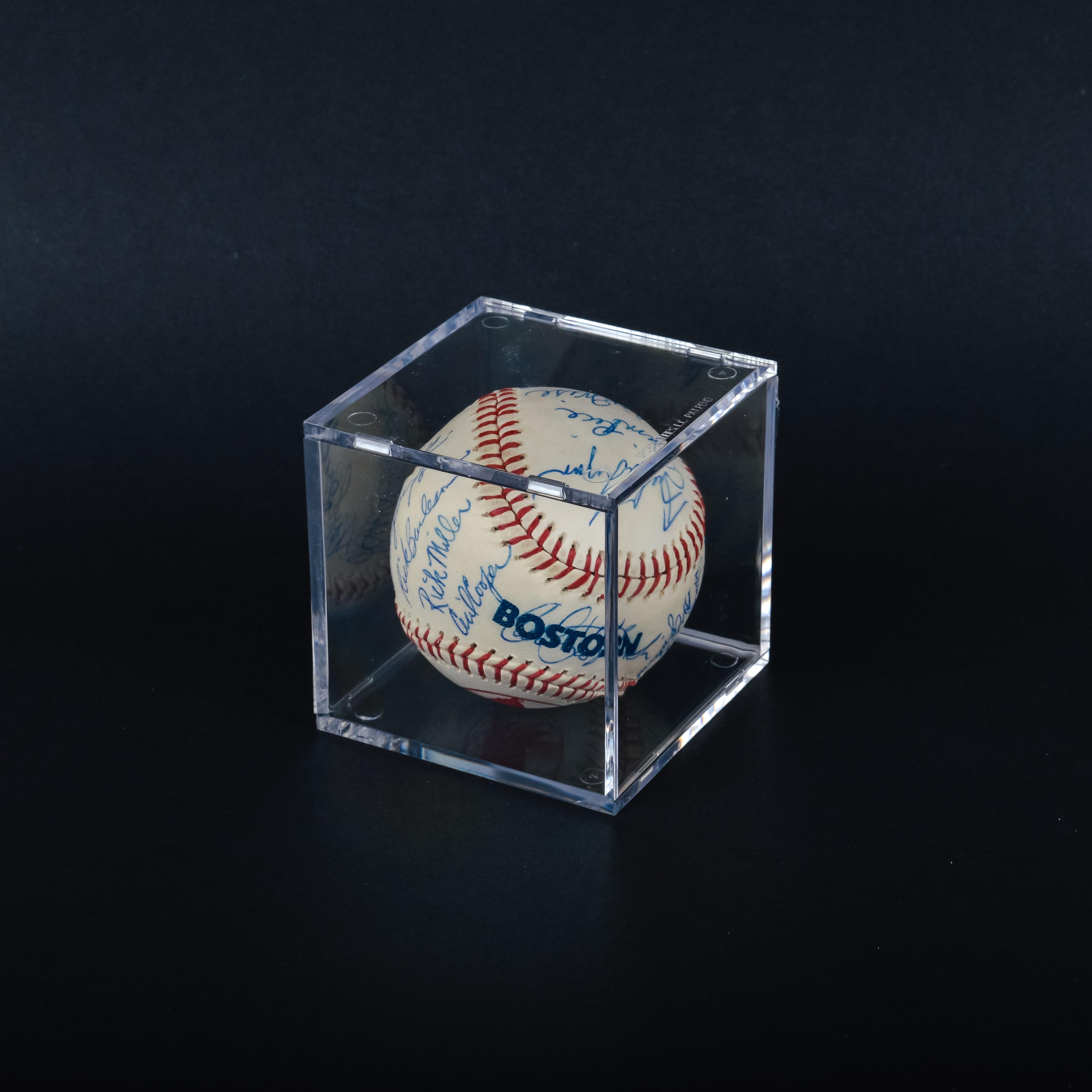 Autographed 1976 Boston Red Sox Baseball