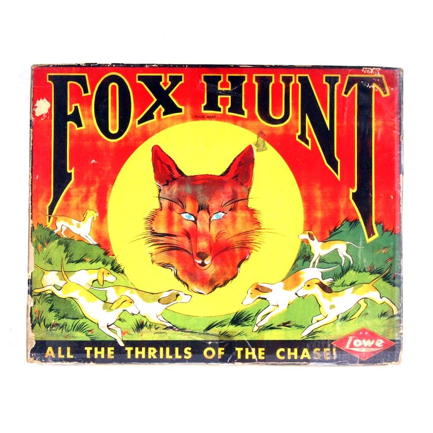 Vintage Fox Hunt Game