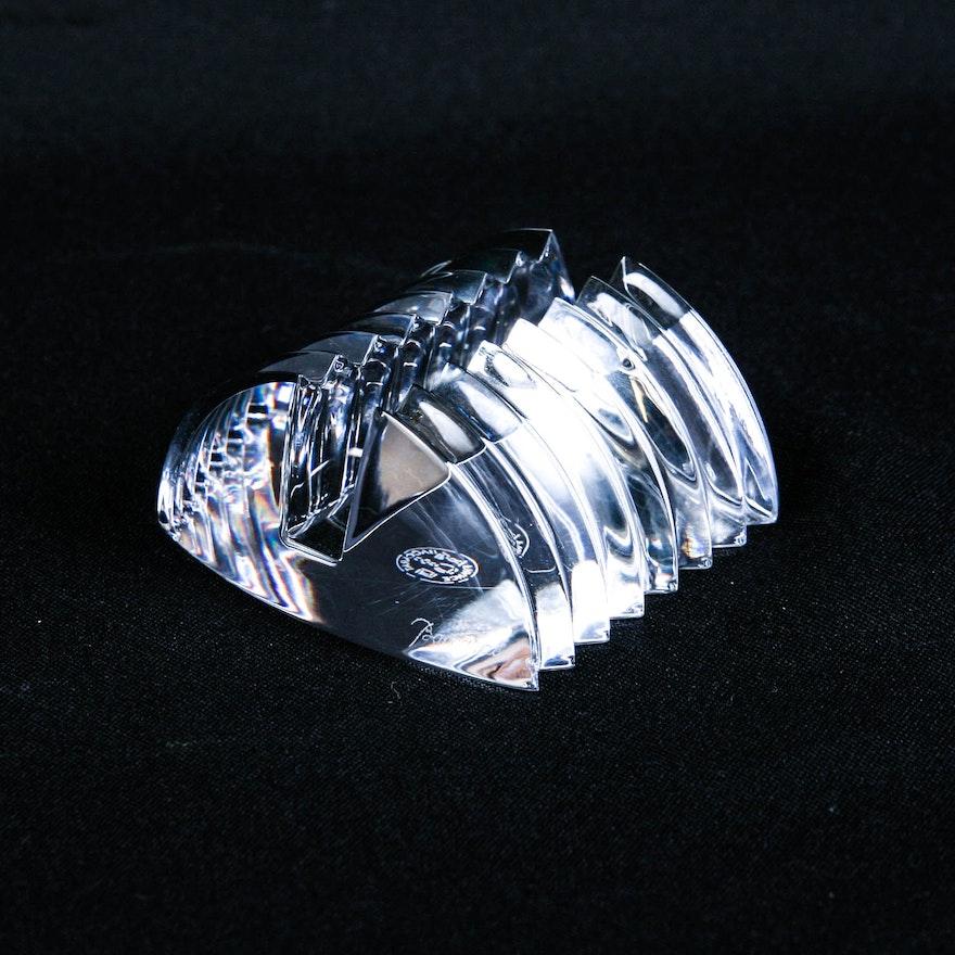 Baccarat Crystal Business Card Holder : EBTH