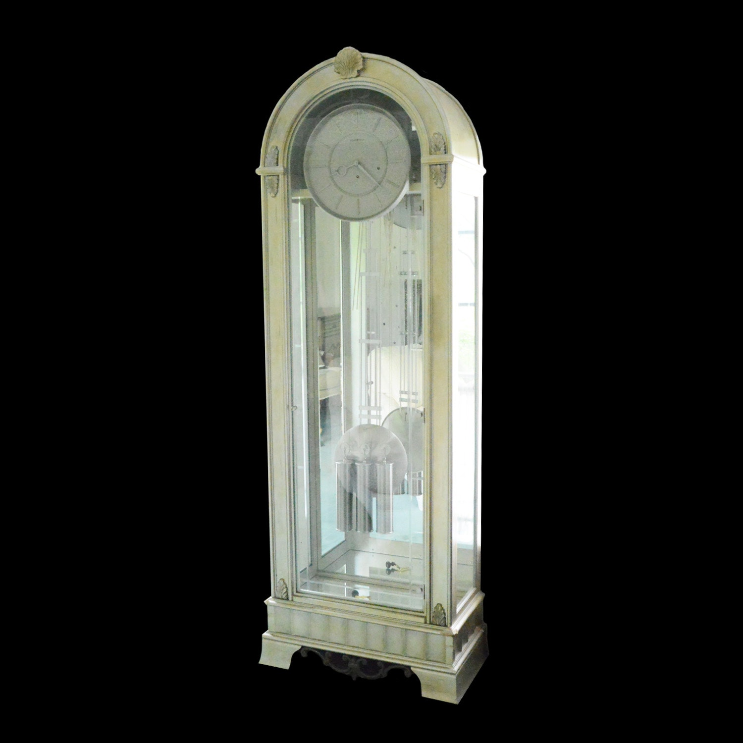 Quot Coastal Point Quot Grandfather Clock By Howard Miller Ebth
